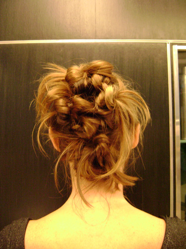 Resultado do penteado.|Mark Assessoria