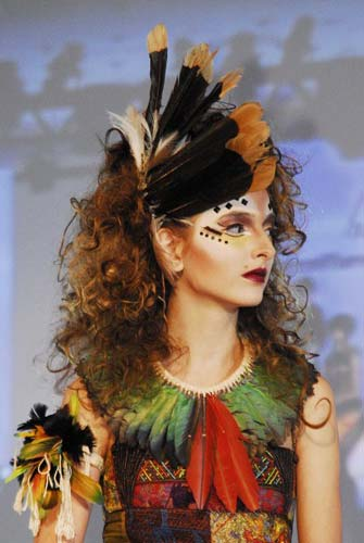 Show Intercoiffure Brasil - Brazilian Emotions (2)|Virna Santolia