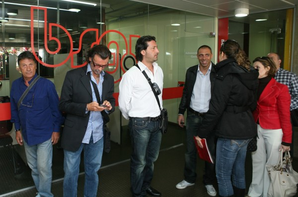 Antonio Aliberti e Alessandro Abel, da Compagnia Italiana, na BSG.U Campinas|Daniel Miura