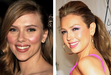 Scarlet Johansson e Thalia