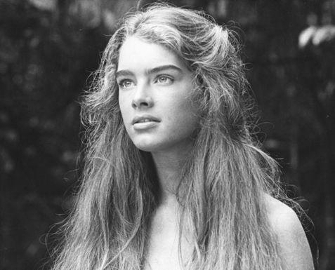 Brooke Shields - A figura angelical da atriz também contava com madeixas naturalmente onduladas|Reprodução