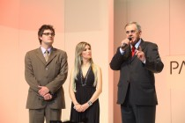 Junior Munhoz, criador do IBB, Izadora Hultmann, supervisora de marketing da APR e Silvio Mascarenhas, presidente do Grupo BSG