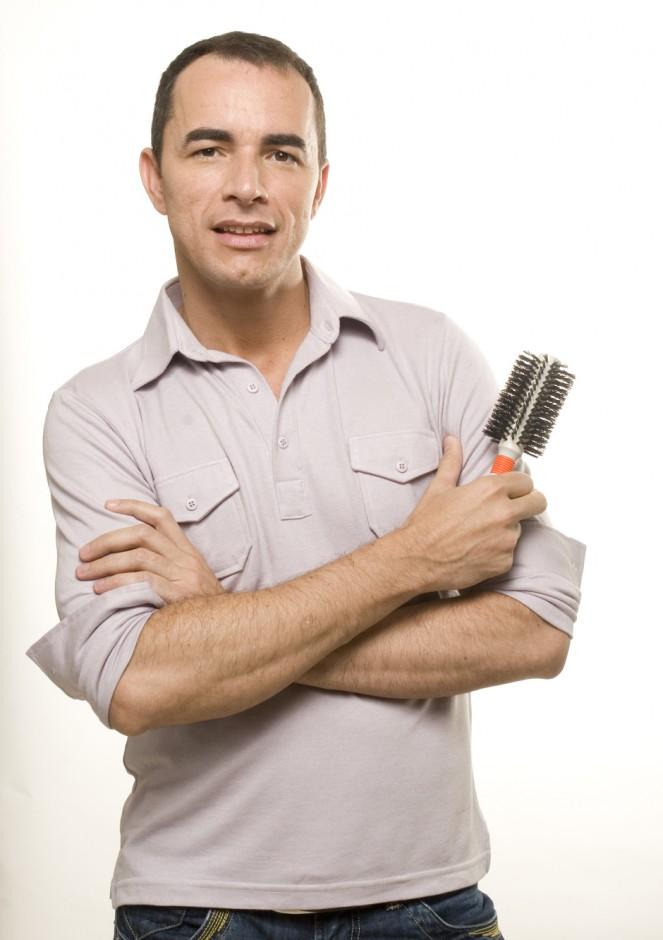 Paulo Persil, hairstylist especialista em noivas|Alberto Foco