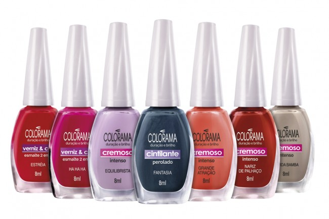 Colorama traz as cores do picadeiro para as unhas