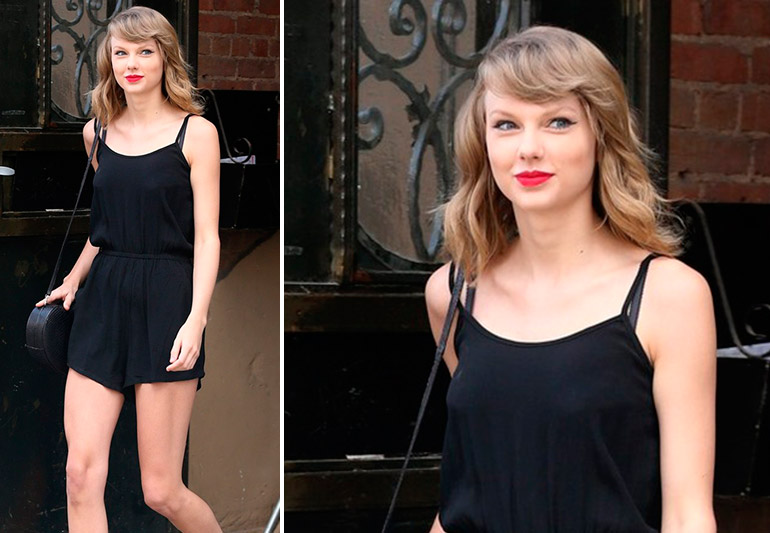 O novo look de Taylor Swift