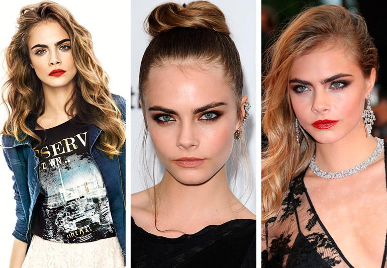 Os looks da top model Cara Delevingne