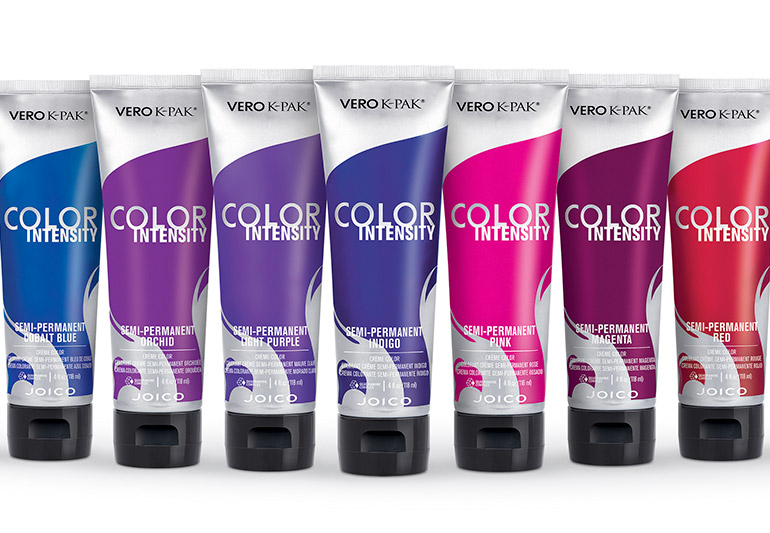 Joico Color Intensity: coloração semi-permanente com tons intensos e vibrantes