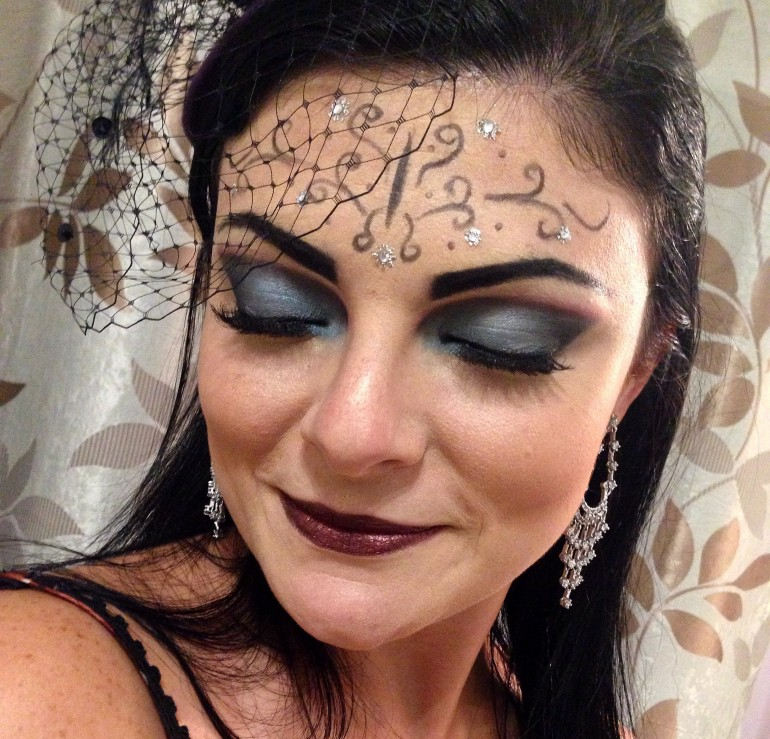 Make-up Halloween - Resultado Final