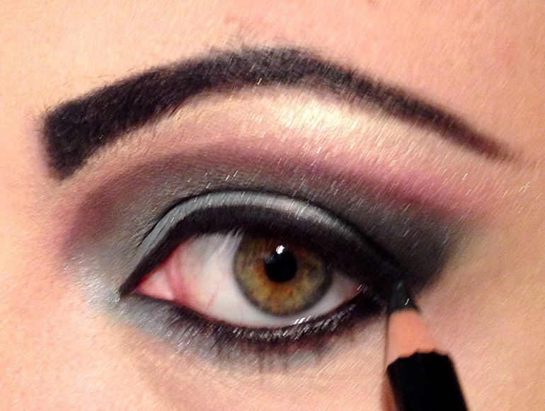 Make-up Halloween - Passo 4